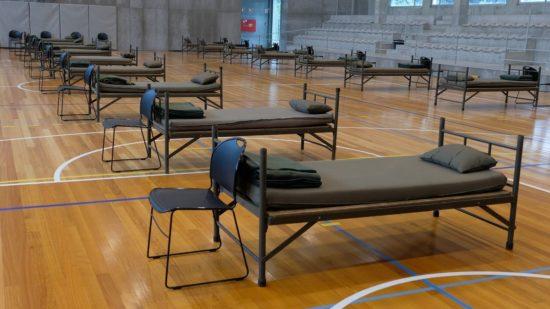 Covid-19: Câmara de Viana com mais 30 camas de apoio à ULSAM no Pavilhão do Atlântico