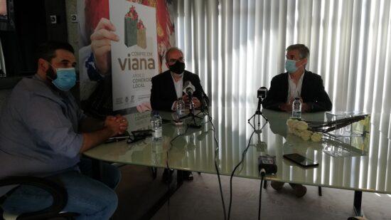"""Câmara Municipal e AEVC promovem campanha """"Compre em Viana, apoie o Comércio Local"""""""