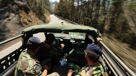 Exército já começou a vigiar Serra de Santa Luzia