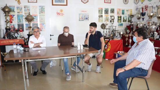 """Neves FC e Rogério Amorim unidos """"para melhorar futebol distrital em Viana do Castelo"""""""