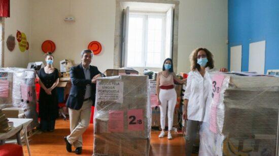 Arcos de Valdevez enviou centenas de livros para Maputo