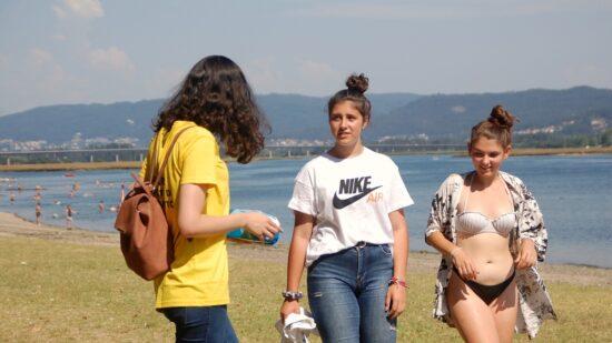 Jovens sensibilizam jovens a ter um desconfinamento em segurança