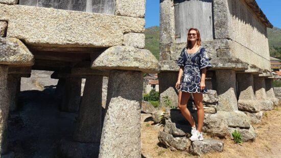 Cristina Ferreira visitou Espigueiros do Soajo