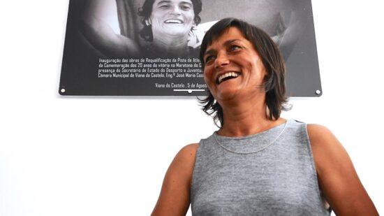 Câmara de Viana saúda Manuela Machado pelos 25 anos da medalha de ouro na maratona nos Campeonatos do Mundo