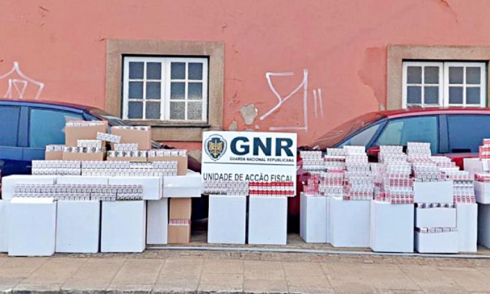 GNR apreendeu quase um milhão de cigarros em Vila Nova de Cerveira