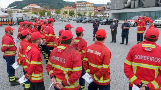 José Maria Costa agradeceu trabalho das 26 corporações de bombeiros que combateram incêndios na região