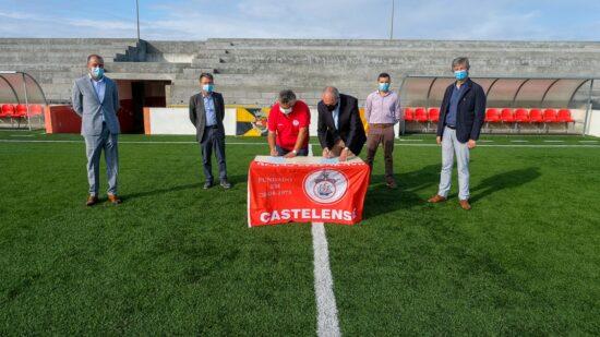 GD Castelense recebe 25 mil euros para iluminação e ampliação dos balneários