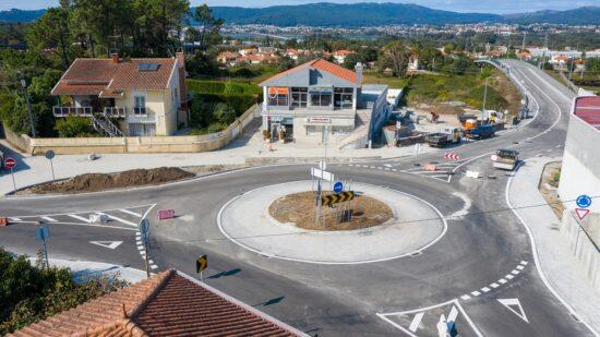Concluída construção de nova rotunda em Mazarefes