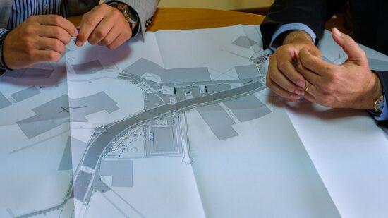 Executivo vianense visitou Vila Nova de Anha para analisar obras em curso