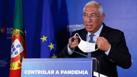 Covid-19: Costa prepara novo alívio de restrições para vigorar a partir de 01 de outubro