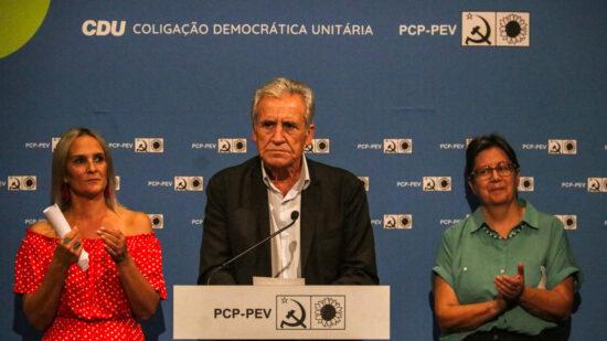 """Autárquicas: Jerónimo de Sousa em Viana do Castelo para """"dar força à CDU"""" e a Cláudia Marinho"""
