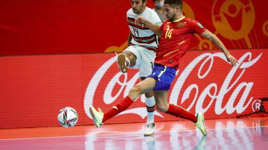 Portugal nas meias-finais do Mundial de futsal ao bater Espanha no prolongamento