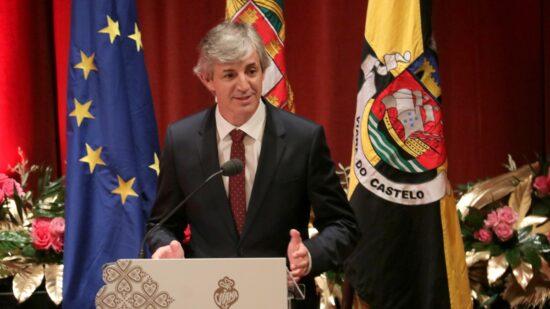 Luís Nobre toma posse como presidente da Câmara Municipal de Viana do Castelo
