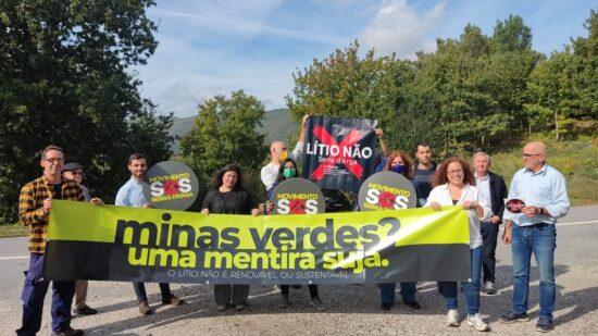"""PAN vai """"lutar"""" para proteger Serra d'Arga de prospeção de lítio"""